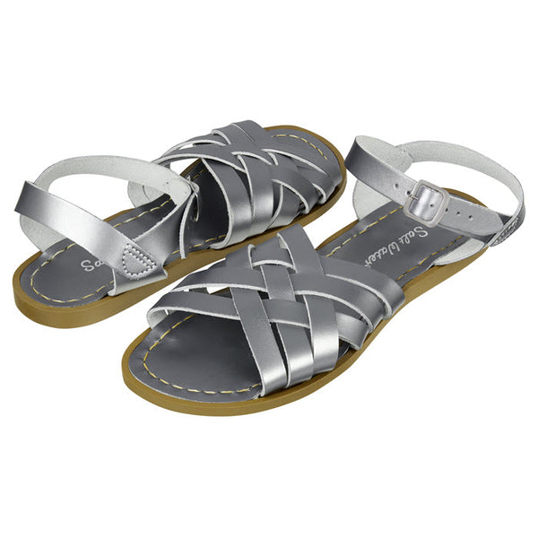 Salt Water Sandalen «RETRO» Pewter