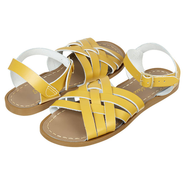 Salt Water Sandalen «RETRO» Mustard