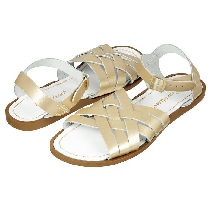 Salt Water Sandalen «RETRO» Gold