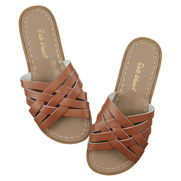 Salt Water Sandalen «RETRO SLIDES» Tan