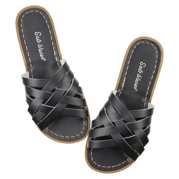 Salt Water Sandalen «RETRO SLIDES» Black