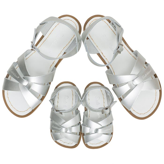 Salt Water Sandalen «MINI-ME» silver
