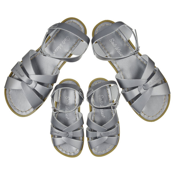 Salt Water Sandalen «MINI-ME» pewter