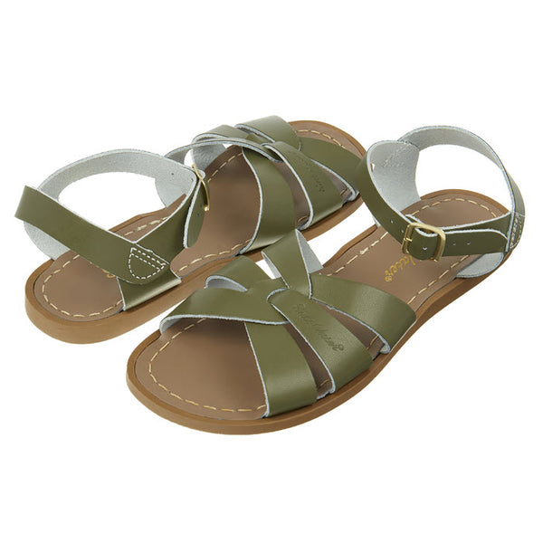 Salt Water Sandalen «ORIGINALS» Olive