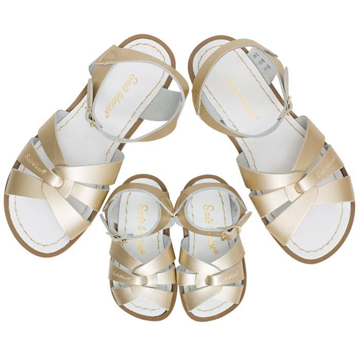 Salt Water Sandalen «MINI-ME» gold