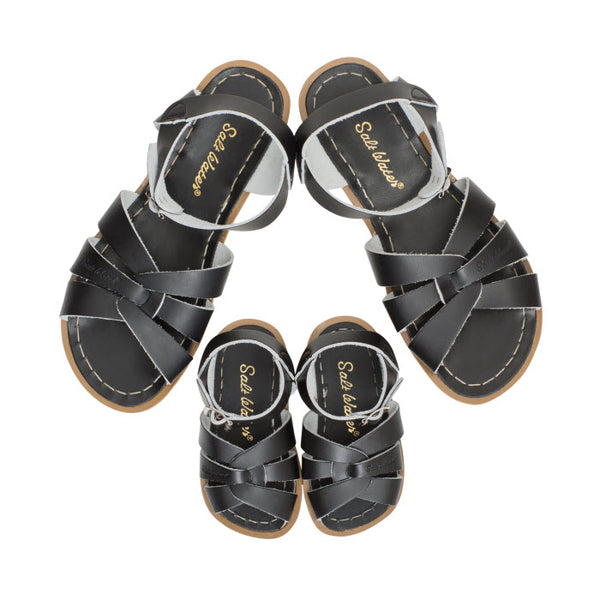 Salt Water Sandalen «MINI-ME» black