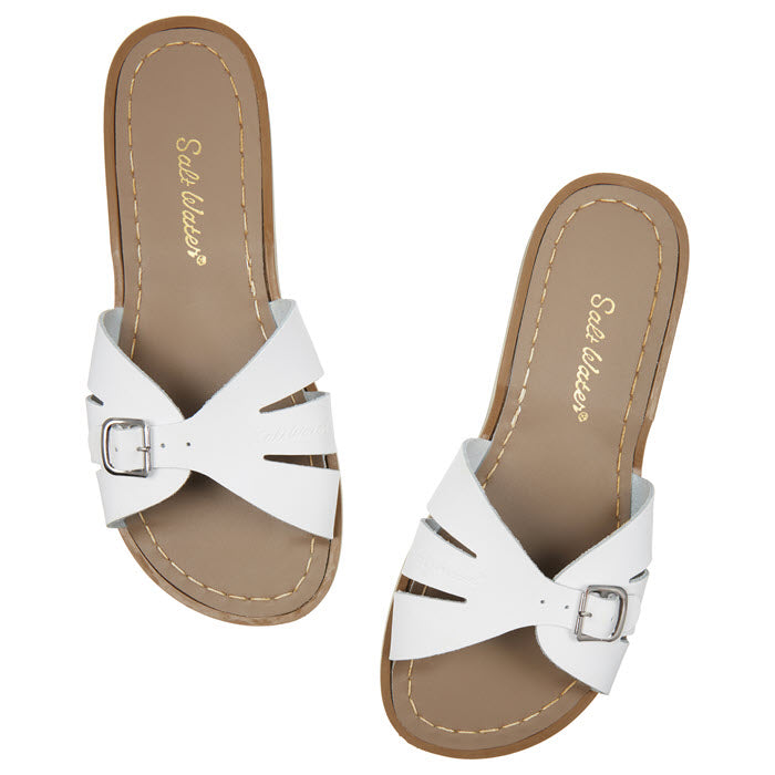Salt Water Sandalen «CLASSIC SLIDES» white