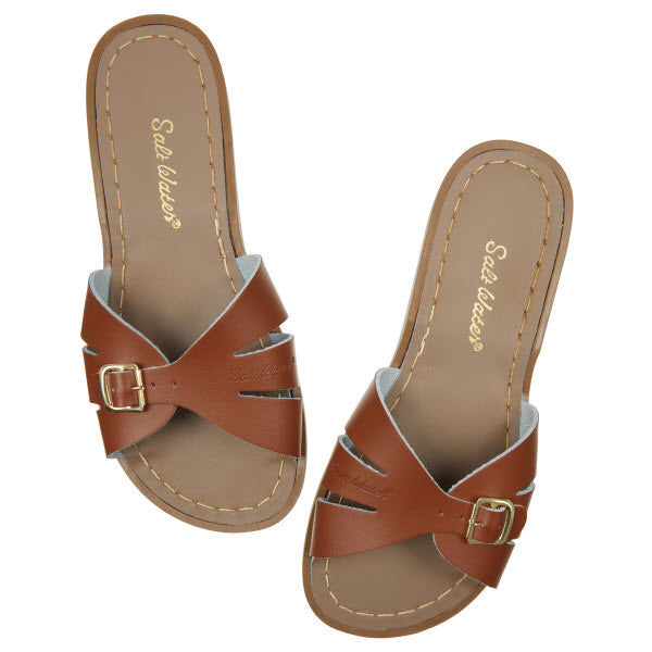 Salt Water Sandalen «CLASSIC SLIDES» tan