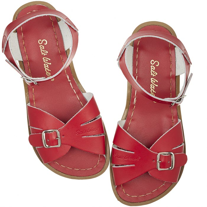 Salt Water Sandalen «Originals classic» red