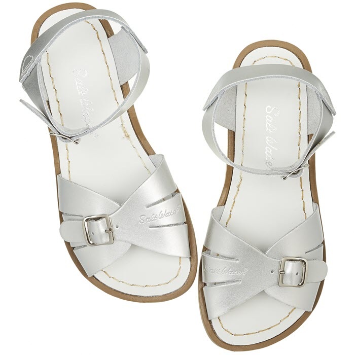 Salt Water Sandalen «Originals classic» silver