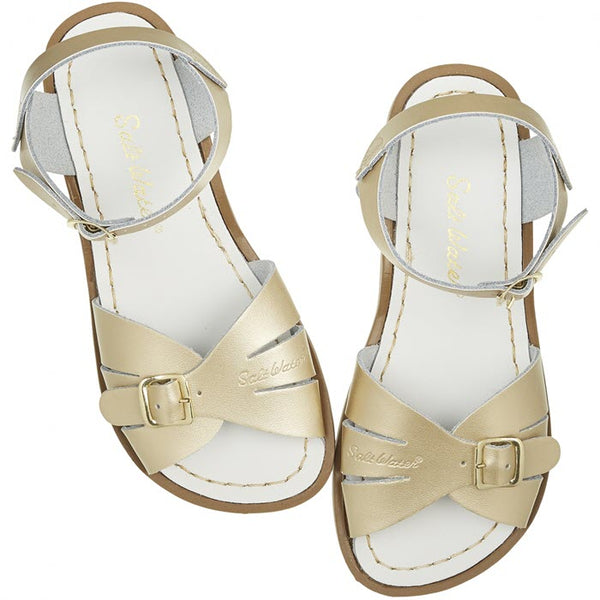 Salt Water Sandalen «Originals classic» gold