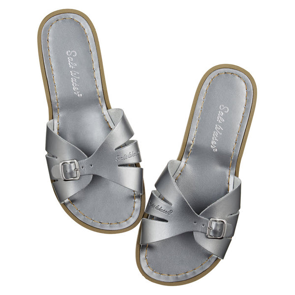 Salt Water Sandalen «CLASSIC SLIDES» pewter