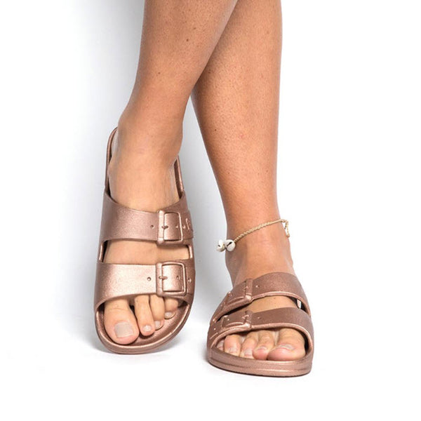CACATOÈS Sandals «Baleia» Women Copper