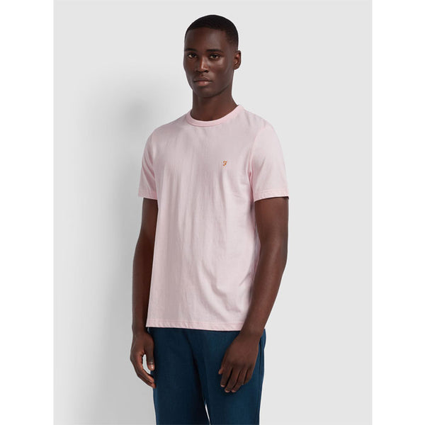 T-Shirt «Dennis» in cool pink von Farah