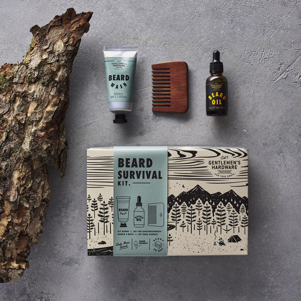 Beard Survival Kit von Wild & Wolf