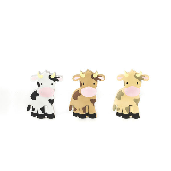 Radiergummi-Set «Farm Animals Cows» von Kikkerland