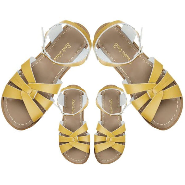 Salt Water Sandalen «MINI-ME» mustard