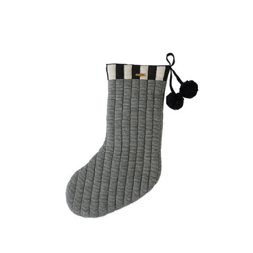 Christmas Stocking «Laja» offwhite/anthracite von Oyoy