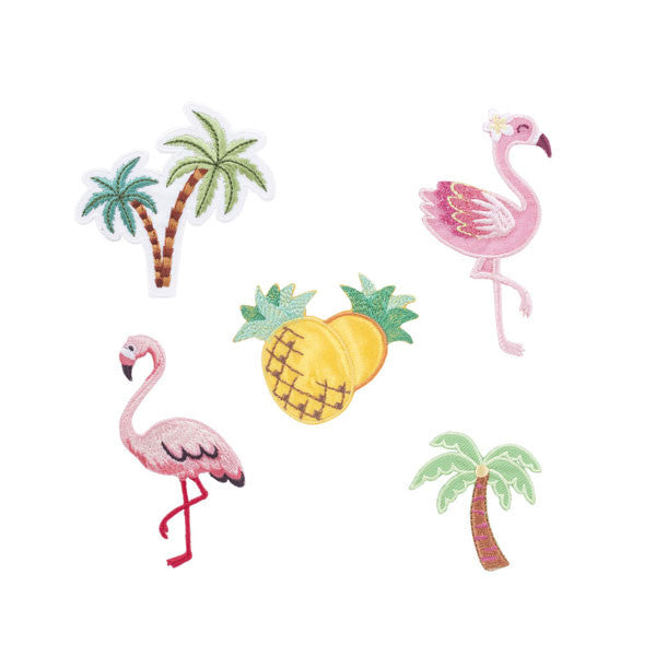 Iron-on Patches «Tropical» von Kikkerland
