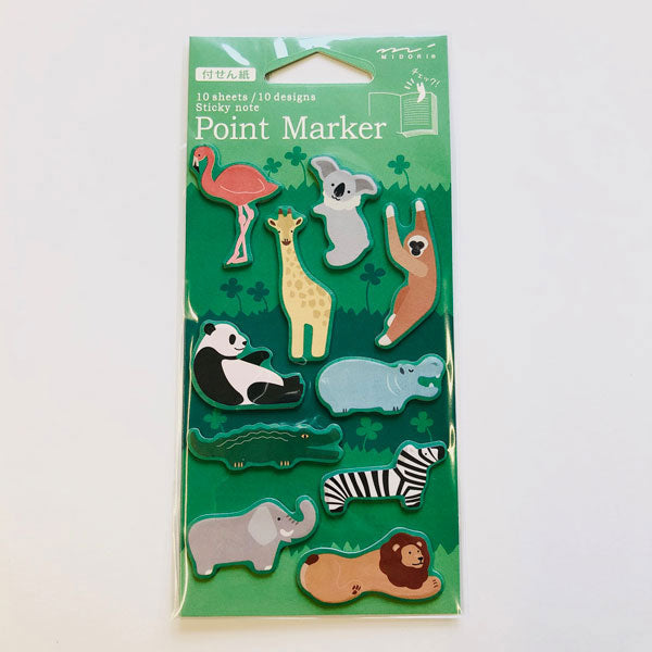 Point Marker Sticky Notes Zoo von Midori