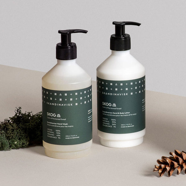 2er-Set Hand Wash & Hand and Body Lotion «SKOG» von Skandinavisk