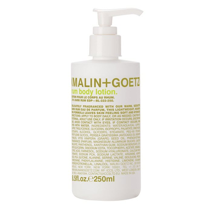 Rum body lotion von Malin + Goetz
