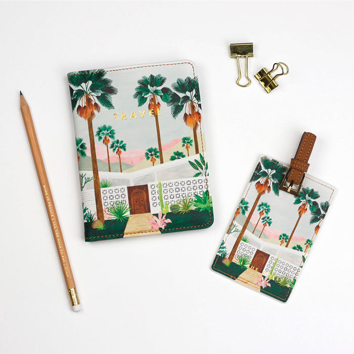 Passport + Luggage Set «Palm Springs» von All the ways to say