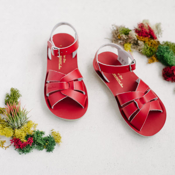 Salt Water Sandalen «Swimmer» red