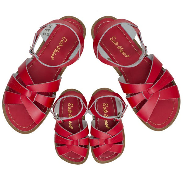 Salt Water Sandalen «MINI-ME» red