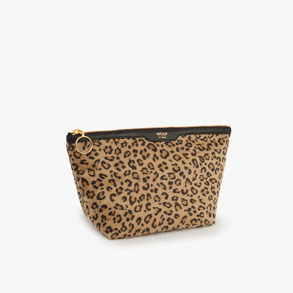 Beauty Pouch Velvet «Safari» von Wouf