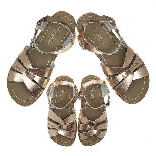 Salt Water Sandalen «MINI-ME» rose gold