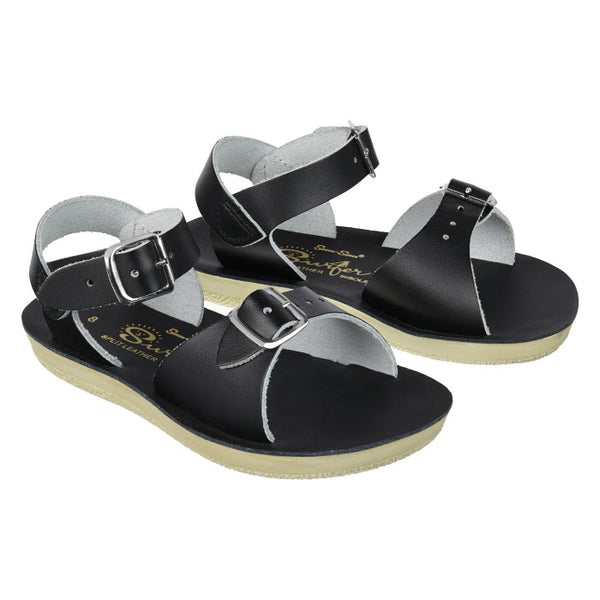 Salt Water Sandalen «Surfers» black