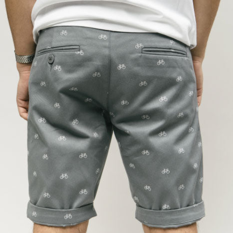 Shorts «Fixed Gear Rider» in blau von Brava Fabrics