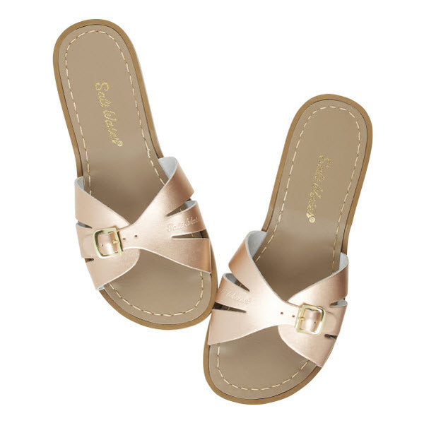 Salt Water Sandalen «CLASSIC SLIDES» rose gold