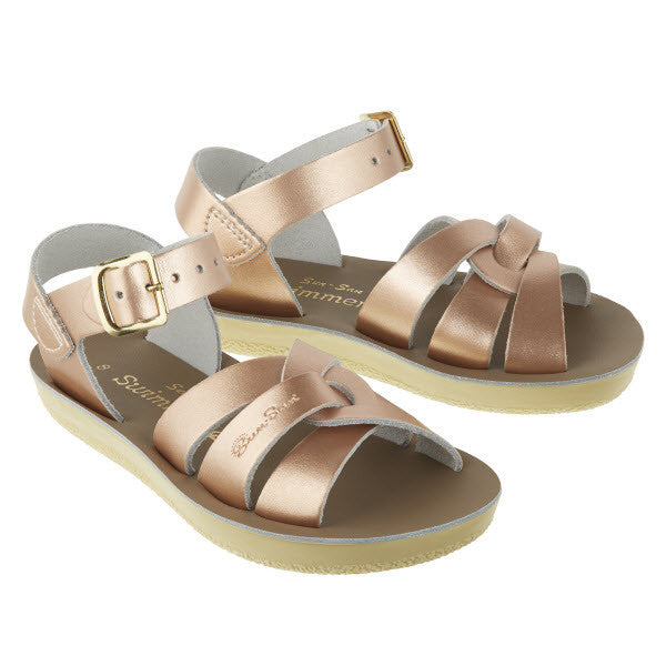 Salt Water Sandalen «Swimmer» rose gold