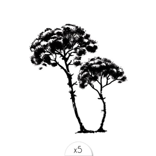 Tattoos «TREE» von Sioou