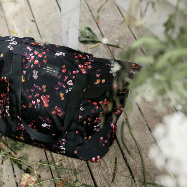 Weekend Bag Recycled «Tulips» von Wouf