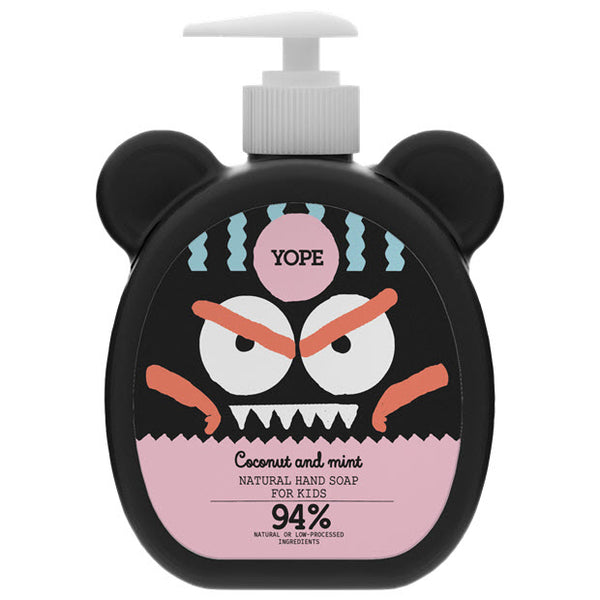 YOPE Natural Hand Soap for Kids Coconot & Mint