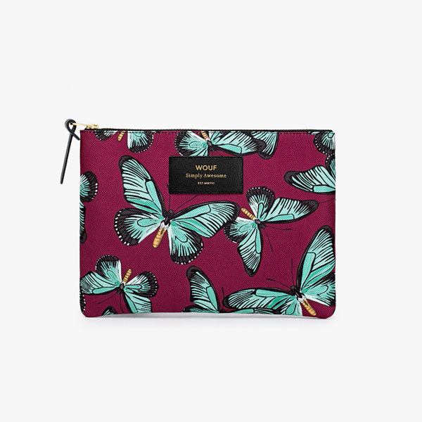 Pouch «Butterfly» gross von Wouf
