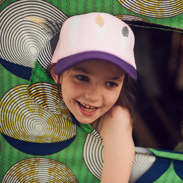 Kids Cap «Feathers» von Dashki