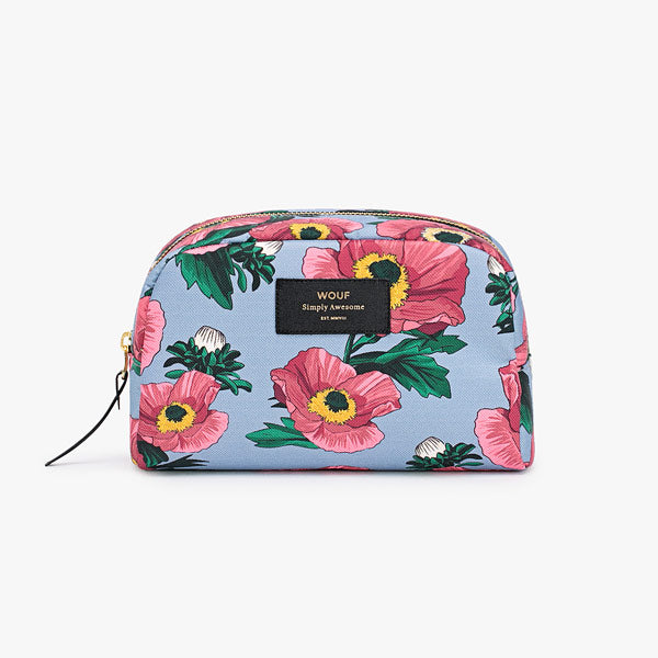 Beauty Pouch «Flowers» gross von Wouf