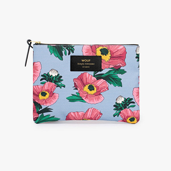 Pouch «Flowers» gross von Wouf