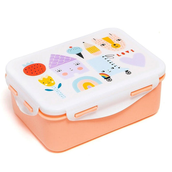Lunchbox «skate & house » von Petit Monkey