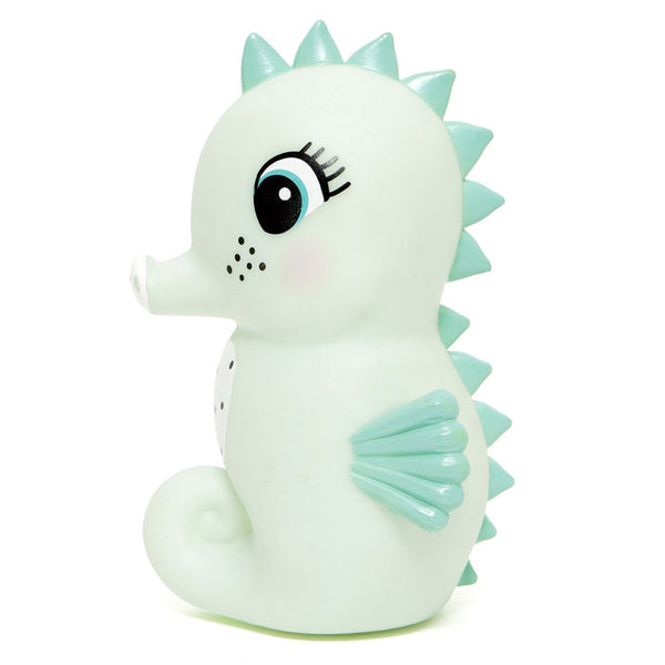 Night light Seahorse mint von Petit Monkey