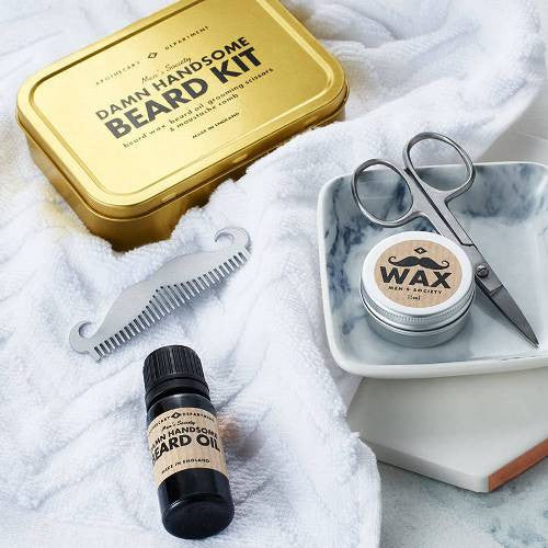 Bartpflege Set «DAMN HANDSOME BEARD KIT» von Men's Society - weloveyoulove  - 1
