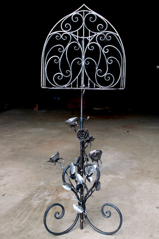 Gothic Rose Music Stand