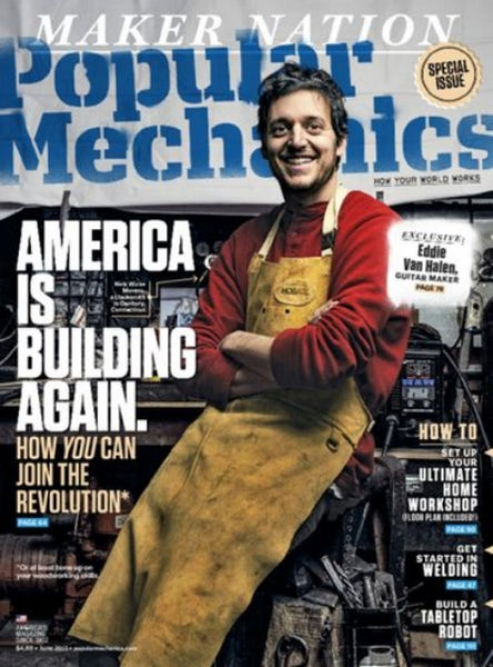 Popular Mechanics Magazine Blacksmith Nick Wicks