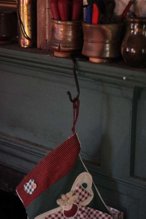Stocking Holder Hook for Mantle/Shelf