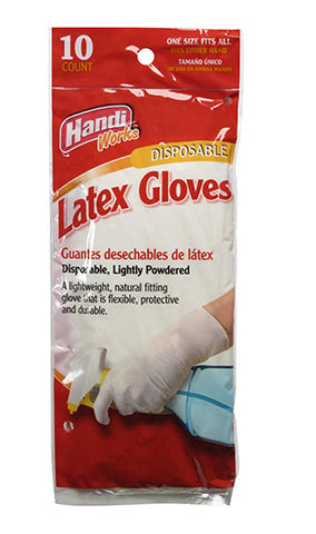 Handi-Works™ 10 count Disposable Latex