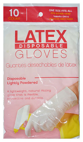 GSI 10 count Disposable Latex